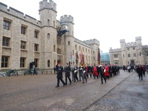 Annual Church Parade @ H.M. Tower of London